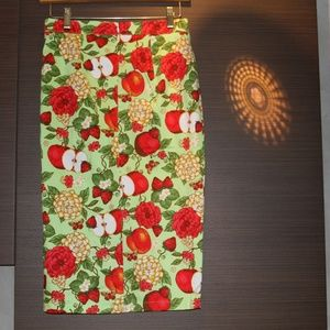 Voodoo Vixen Skirts - A Fruity and Floral Pencil Skirt - 1950s Style